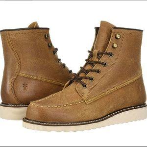 Men's Frye Dawson Wedge Cognac Boots